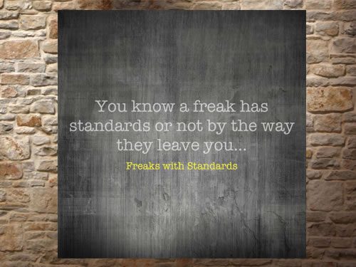 Freaks with Standards – Confuse
